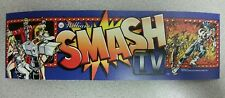 Smash TV arcade marquee sticker. 3 x 10. (Buy any 3 stickers, GET ONE FREE!)