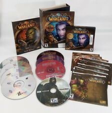 Vintage PC game lot: World of Warcraft, Mount & Blade, Buried in Time, 11th Hour