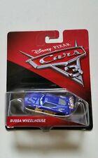 NOVITA' CARS 3 Disney pixar BUBBA WHEELHOUSE nr.6 2017 RARO mattel 1/55 maclama