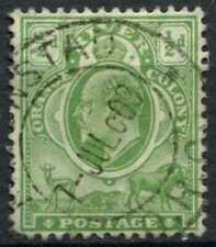 Orange River Colony 1905-1908 SG#148, 1/2d Yellow-Green KEVII Used #E11364