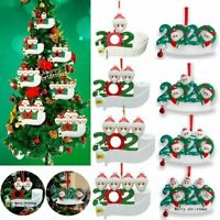 ADD Name 2020 Xmas Christmas Tree Hanging Ornaments Family Ornament Decor Gifts