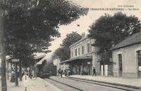 Saint gengoux le national - la gare