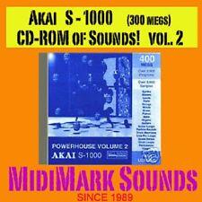 Akai s1000, s-1000, or Comp  Vol. 2 Pwr House CD-Rom