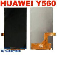 DISPLAY LCD per HUAWEI ASCEND Y560-L01 MONITOR FLEX ORO GOLD CRISTALLI LIQUIDI