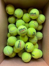 1 2 4 5 up to  25 used TENNIS BALLS in good condition!Great for DOG TOYS,WALKERS
