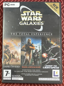 Star Wars Galaxies The Total Experience - PC DVD + Manual EB06
