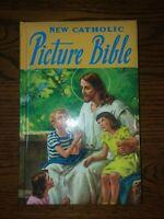 New Catholic Picture Bible St. Joseph's Junior Children Illustrated Book 1990