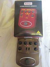 Behringer V-Tone Acoustic ADI 21 Modeler/Direct Recording Preamp/Di Box
