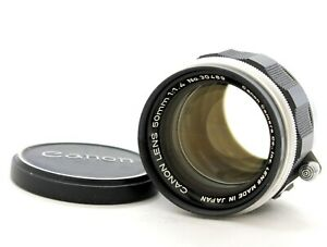 [Excellent Canon 50mm F/1.4 L39 LTM Leica Screw Mount Lens from Japan
