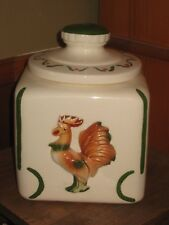 California Sierra Vista Rooster Cylinder Cookie Jar