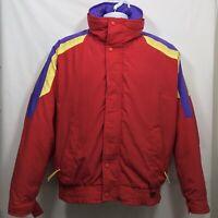 VTG Gordon Ferguson Field & Stream Ski Jacket Men's Size L Red 3 In 1 Bomber
