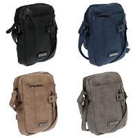 Kleine Damen Tasche Schultertasche Umhängetasche Crossover Bag Leder Optik Neu