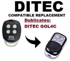 Ditec GOL4C porte de garage/portail télécommande de remplacement/duplicateur