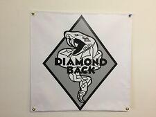 old school BMX diamond back grey BANNER 2FT X 2FT mancave show  garage vdc gt