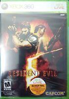 Resident Evil 5 for Xbox 360 - Factory Sealed