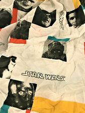 "VINTAGE LICENSED ""STAR WARS"" TWIN FITTED SHEET WITH MODERN TAKE-SHIPS FREE 2U!"