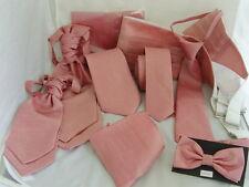 Dusky Pink GG Collection>Mens/Boys Bow ties-Ties-Cravats-Cummerbunds-Hankie+Sets