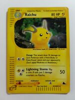 Raichu H25/H32 Rare Skyridge Holo Pokemon Card