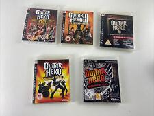 Guitar Hero World Tour Playstation 3 (PS3) - Warriors Of Rock, Guitar Hero 1,3,5