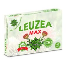 Leuzea Max - 60 tablets Stimulate Muscle Growth Increases Work Capacity