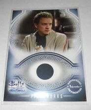 Buffy Men Of Sunnydale Pieceworks Costume Trading Card PW4 Tom Lenk as Andrew