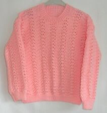 Girls Hand Knitted Jumper