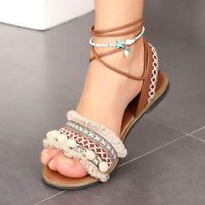 Boho Women Shell Starfish Anklet Sandal Bracelet Foot Chain Bead Anklets Jewelry