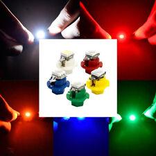 50pcs T5 5050 1SMD LED B8.4D Indicator Gauge Dashboard Dash Side Lights Bulbs
