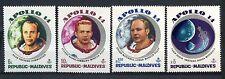 Maldive Islands 1971 SG#378-381 Moon Flight, Apollo 14 Space MNH Set #A59648