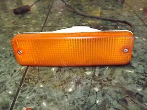 OEM 85-90 Isuzu I-Mark imark front turn signal blinker light lens lamp 045-5006L
