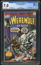 Werewolf by Night #32 CGC 7.0 White Pages (Marvel 8/75) 1st app of Moon Knight