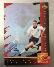 World Cup 1994 USA  Upper Deck Soccer Cards Player of the Year - David Platt