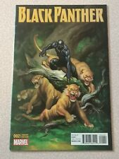 Black Panther (2016) #2  Frank Cho 1:25 Incentive Variant Cover! CGC !?!