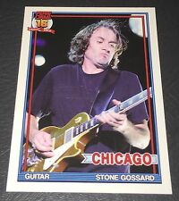 PEARL JAM Wrigley Baseball Card - Stone Gossard 5 gold lp - 2016 Chicago pack