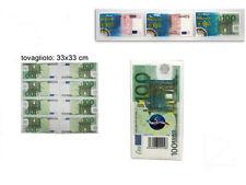 Tovaglioli di carta 10 50 100 euro gadget per feste party compleanno idea regalo