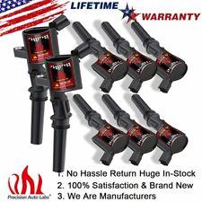 8 Pack Ignition Coils For Ford  E-150 E-250 F-250 Epoxy DG508 4.6L 5.4L Mercury