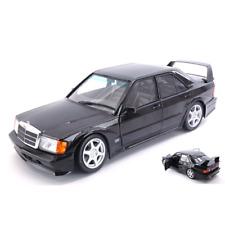 MERCEDES 190E 2.5-16  EVO II (W201) 1990 BLACK 1:18 Solido Auto Stradali