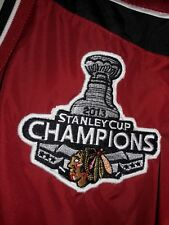 NHL Chicago Blackhawks 2013 Stanley Cup Champions Men's Pullover Jacket Sz L Red
