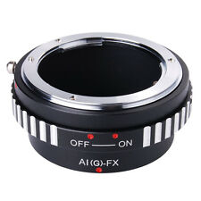 Adapter Ring For Nikon AI AF G lens to Fujifilm Fuji X Mount X-Pro1 Camera M5A6