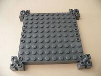 Lego 1 brique de base gris fonce set 4608 4609 4657 / 1 old dark gray base brick