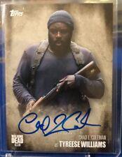 2016 Topps Walking Dead Season 5 Auto Autograph Chad Coleman