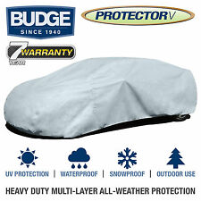 Budge Protector V Car Cover Fits Lincoln Town Car 1988| Waterproof | Breathable