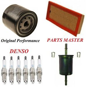 Tune Up Kit Filters Spark Plugs For FORD FIVE HUNDRED V6 3.0L 2005-2007