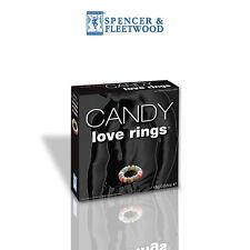 Jeux & Cadeaux Anneau Bonbons Love Rings - SPENCER & FLEETWOOD