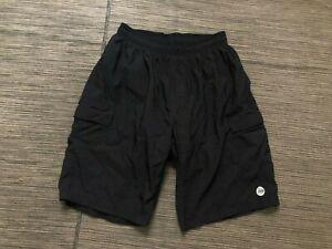 Baggy Padded Cycling Shorts Mens Large Black