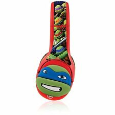Nabi Kids DJ Headphones Leonardo 3D Character Wrap Teenage Mutant Ninja Turtle