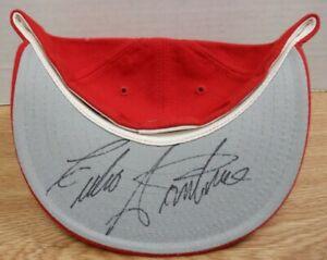 Julio Santana Texas Rangers Autographed Hat w/COA 102819DBT3