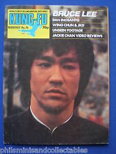 Kung Fu Monthly No. 76   Bruce Lee    ' Postermag '   1980s