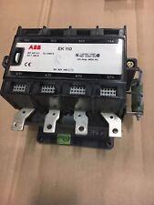 EK110 ABB Contactor 170A 24VDC Coil NIB SK 825 400-RB