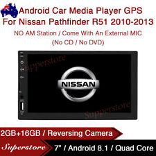 """7"""" Quad Core Android 8.1 Car Media Player GPS For Nissan Pathfinder R51"""